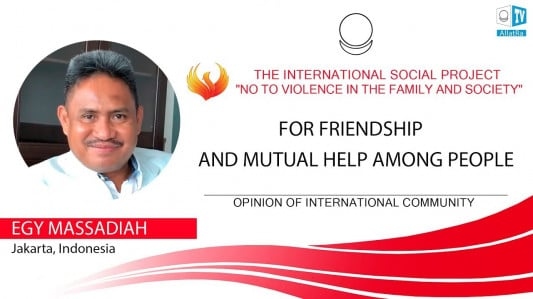 FOR FRIENDSHIP AND MUTUAL HELP AMONG PEOPLE