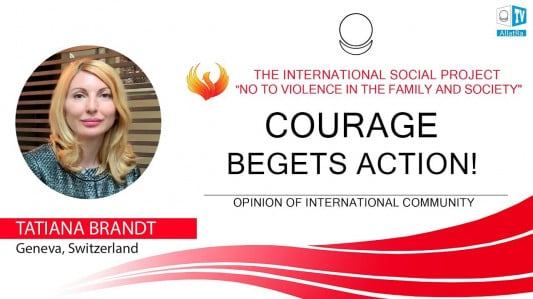 COURAGE BEGETS ACTION!