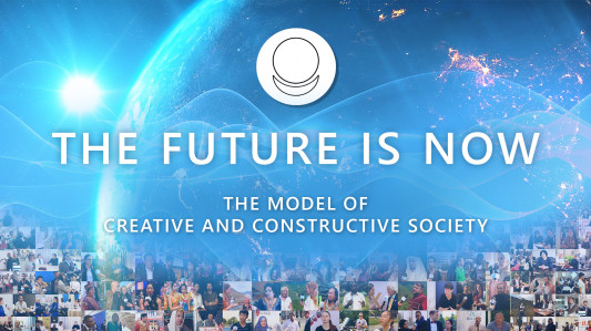 "International social research project ""THE FUTURE IS NOW"" on the platform of ALLATRA International Public Movement"