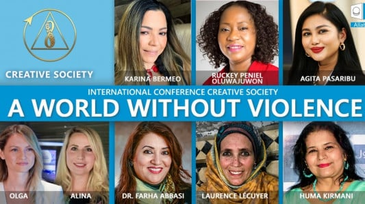 A World without Violence | Creative Society. The 2nd International Global Conference
